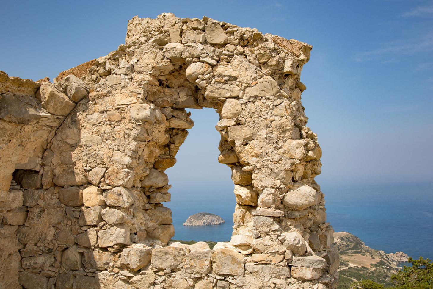 Het kasteel van Monolithos