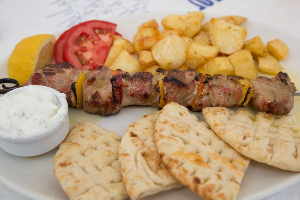 Lekker Grieks eten op Rhodos