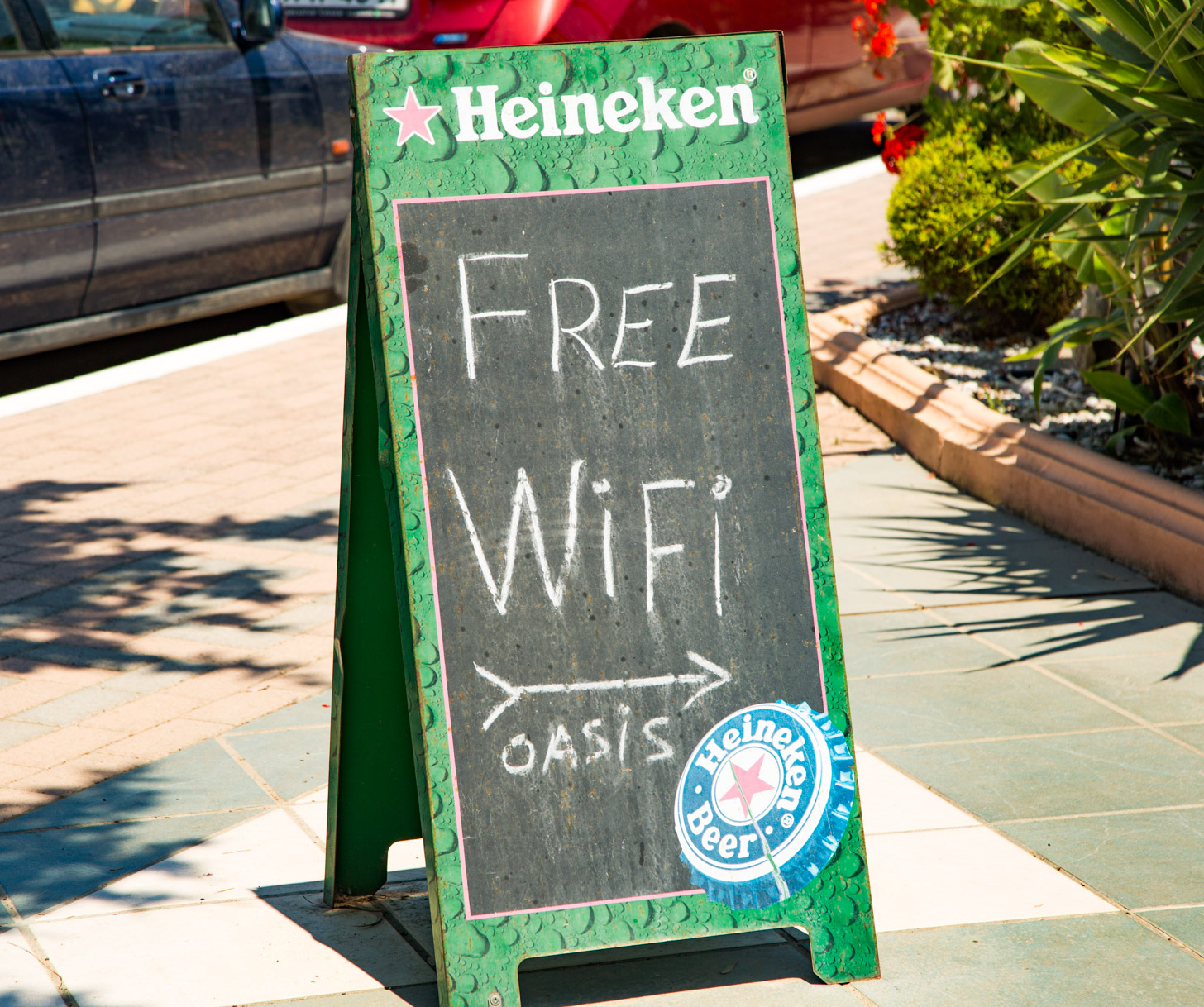 Gratis internet via wifi